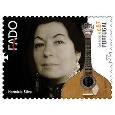 Stamps Portugal 2011 - Stamps to honor Fado - Stamp: Hermínia Silva