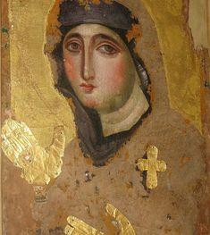 Η μοναδική και σπάνια βυζαντινή εικόνα της Παναγίας Αγιοσορίτισσας - ΕΚΚΛΗΣΙΑ ONLINE