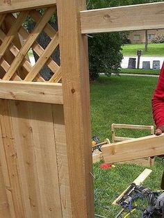 How to Convert a Wood Fence Panel to a Gate Building A Wooden Gate, Wooden Gates, Cute Dorm Rooms, Cool Rooms, Fence Panels, Elegant Homes, Historic Homes, Home Improvement Projects, Decor Styles