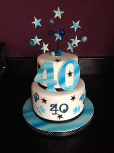 40th Birthday Cake Ideas For Men Google Search Products I Love 40 Cakes And
