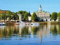 Pori Eteläranta, Finland Western Coast, Finland, Parks, Map, City, Heart, Travel, Europe, Cities