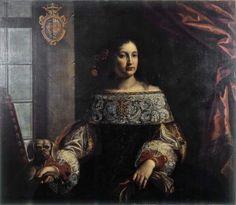 Portrait of Countess Simonetta Cavazzi della Somaglia (1660s) by Pierfrancesco Cittadini