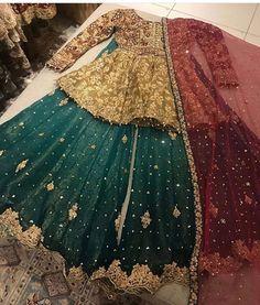 Pakistani bridalwear/ my nikah outfit 😃/ Desi/ partywear Pakistani Mehndi Dress, Bridal Mehndi Dresses, Pakistani Fashion Party Wear, Pakistani Wedding Outfits, Bridal Dress Design, Pakistani Bridal Dresses, Pakistani Wedding Dresses, Indian Fashion Dresses, Pakistani Dress Design