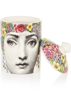 Fornasetti - Flora Scented Candle, 300g - Colorless