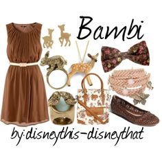 Bambi by disneythis-disneythat on Polyvore featuring H&M, Frye, Henleys, Bibi Bijoux, Sakdidet Road, MARC BY MARC JACOBS, Monsoon and Juicy Couture