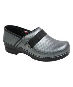 This Gray SmartStep Rae Lyn Leather Clog - Women by Sanita is perfect! #zulilyfinds