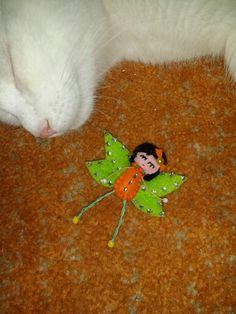 Filz fee broch Animals, Felt Fairy, Animaux, Animal, Animales, Animais