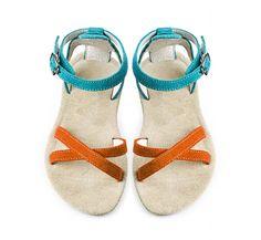Art. A35 Sandals, Summer, Shoes, Collection, Art, Fashion, Slide Sandals, Craft Art, Moda