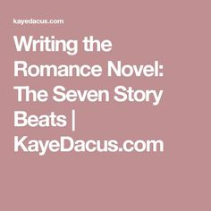 "In Writing the Romantic Comedy, Billy Mernit breaks the romance storyline into ""seven basic"" pieces, or ""beats."" Most of us have heard that we should structure novels like p… Writing Romance, Fiction Writing, Writing Advice, Romance Novels, Writing A Book, Writing Prompts, Writing Resources, Writing Ideas, Writing Quotes"