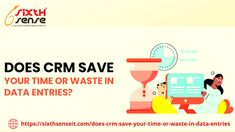 CRM: Does it saves your Time or Waste in Data Entries Sales Crm, Sales And Marketing, Marketing Tools, Crm Tools, Customer Relationship Management, Consulting Firms, Data Entry, Time Management, Save Yourself