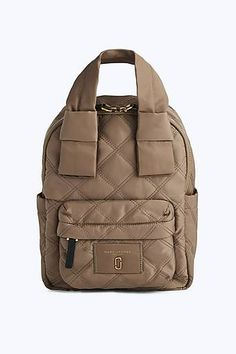 Marc Jacobs Nylon Knot Backpack in French Grey