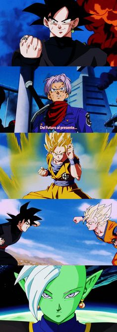 Dragon Ball Super Z- cap51 by salvamakoto. I wish Super really WAS animated like this. My heart would be so happy.  #SonGokuKakarot
