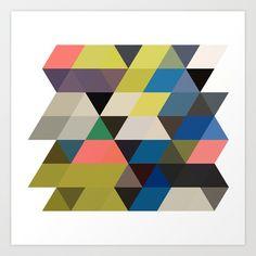 color story - traverse  Art Print by Amanda Millner McAdoo