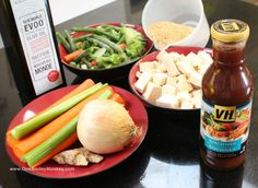 This morning I spent some time online checking out the VH Sauces website and picking out my favorite sauce for our Sunday lunch meal. I decided to plan a Vegetarian Stir-Fry using their VH Szechwan… Stir Fry Dishes, Stir Fry Recipes, Veg Recipes, Sauce Recipes, Vegetarian Recipes, Healthy Recipes, Delicious Recipes, Healthy Foods, Vh Sauces