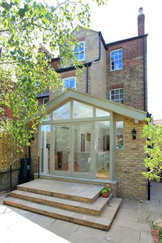 Rear Extension Kitchen And Living House Extension Design, Extension Designs, Glass Extension, Rear Extension, Extension Ideas, Bungalow Extensions, Garden Room Extensions, House Extensions, Orangerie Extension