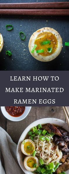 Learn how to make marinated ramen eggs with that gooey yolky center and delicious umami flavor. Perfect for that bowl of ramen, or just as a snack! ramen egg recipe | marinated soy sauce eggs | how to make ramen eggs | how to soft boil eggs | easy ramen eggs | japanese ramen eggs | japanese soy sauce eggs | ajitsuke tamago | healthy eggs | shoyu tamago via @Went Here 8 This