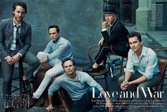 the normal heart vogue. Matt Bomer, Ryan Murphy, Jim Parsons, & The Rest Of The Normal Heart Guys Smolder In Vogue! So Handsome!