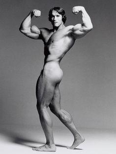 Francesco Scavullo, Arnold Schwarzenegger.