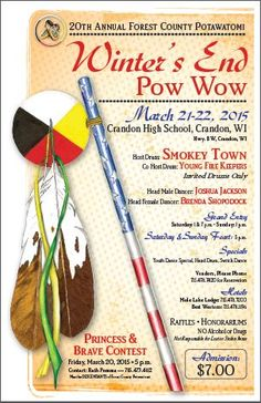 20th Annual Forest County Potawatomi Winter's End Pow Wow