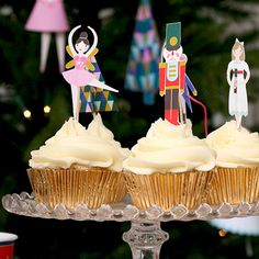 Party Ark's 'The Nutcracker Cupcake Kit 2014'