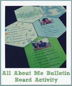 "Get to know your students and allow students to get to know each other with this ""All About Me"" bulletin board activity perfect for back to school!"