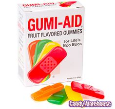 Just found Gummy First Aid Bandages: 3-Ounce Box @CandyWarehouse, Thanks for the #CandyAssist!