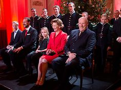 European Monarchies:  Norway Christmas Concert at the Palace-Marius Hoiby, Crown Prince Haakon, Princess Ingrid, Queen Sonja, King Harald