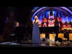 Carrie Underwood & Michael W. Smith - All Is Well @ CMA Country Christmas - YouTube