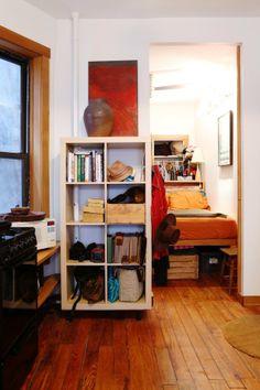 Lauren's Tiny 400-Square-Foot Cozy Apartment