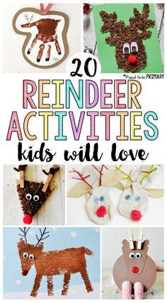 20 reindeer activiti