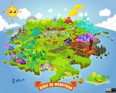 moshi map - moshi-monsters