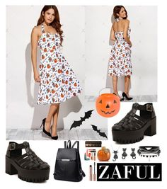 """ZAFUL V/19"" by amra-softic ❤ liked on Polyvore featuring Amanda Rose Collection, General Foam and zaful"