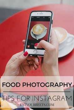 Food photography tips for Instagram beginners! Learn the secrets to better images using your iPhone. Take amazing food photography images for Instagram!