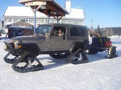 Jeep LJ on TRAX