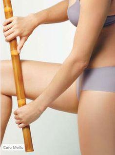 Brazilis Cosméticos - Drenagem linfática com bambu campeã quando o assunto é acabar com a retenção de líquidos