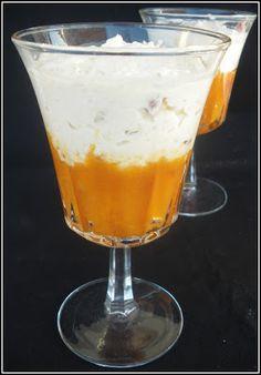 Chic, chic, chocolat...: Mousse de nougat et compotée d'abricots