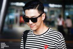 Bang Yongguk at an airport in Singapore ^_^