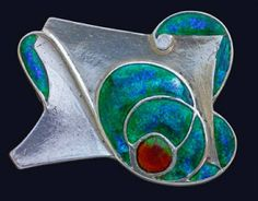 Arts and Crafts Brooch by Archibald Knox, England