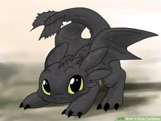Draw Toothless