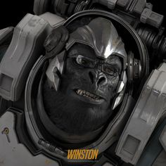 ArtStation - Winston : Overwatch Fan Art, Namju Kim
