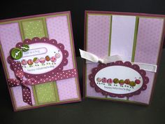Valentine's Day Love Bug Cards by Lianne Carper - Cards and Paper Crafts at Splitcoaststampers