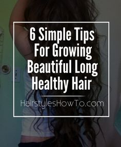 Keep your hair growing long and beautiful with these 6 simple tips we put together to share with you.