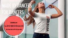 """Use Promo Code """"LDCMODA10"""" to save 10% off your order at SalsaModa.com!  Salsa Moda features fresh dance themed t-shirt designs that let everyone know you're a dancer!"""