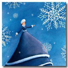 Marie Cardouat - Les flocons de neige