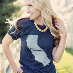 Making the #California Home T look great. Get yours at http://TheHomeT.com/shop. #fashion