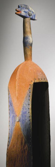 Benue River Vertical Mask, probably Wurkun or Bikwin,Nigeria | Lot…
