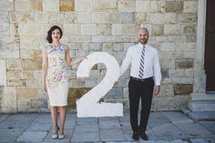 lovely idea for an anniversary shoot, photo by Jesus Caballero http://ruffledblog.com/second-anniversary-photoshoot-with-cotton #weddinganniversary