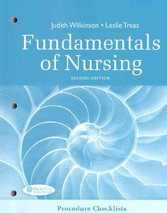 Fundamentals of nursing human health and function by ruth f bestseller books online procedure checklists for fundamentals of nursing judith wilkinson leslie treas 1899 fandeluxe Image collections
