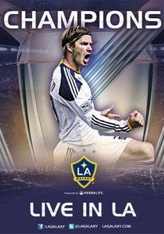 CANNOT WAIT until Dec. 1! Get to see this guy play in his last game for LA and win the MLS Championship!