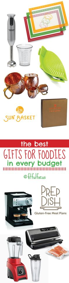 The Best Gifts For Foodies In Every Budget | Gift Guide | Healthy Gifts | Food Gifts | Holiday Shopping | Fit & Fashionable Friday http://fitfulfocus.com/the-best-gifts-for-foodies-in-every-budget/?utm_campaign=coschedule&utm_source=pinterest&utm_medium=Fitful%20Focus&utm_content=The%20Best%20Gifts%20For%20Foodies%20In%20Every%20Budget